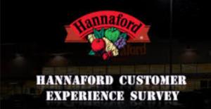 TalkToHannaford — Official Hannaford® Customer Survey