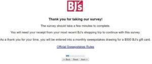 www.bjs.com/feedback – Take BJ's Customer Survey 2020
