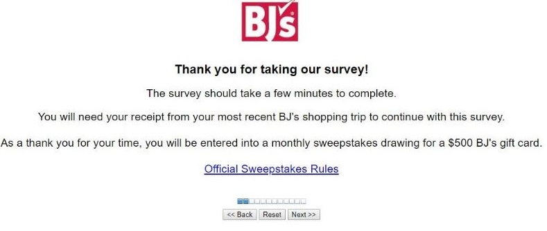 bjs survey rule image