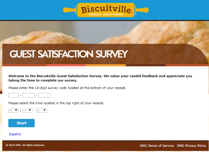 biscuitville survey step1