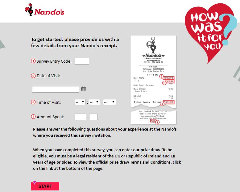 nandos survey step1