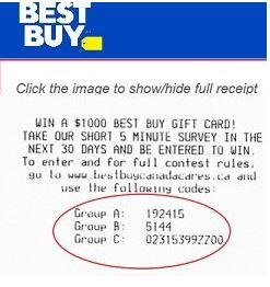 BestBuyCanada Survey
